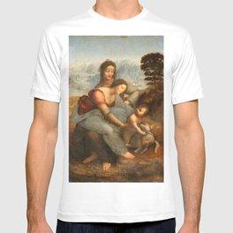 Leonardo da Vinci, Virgin and Child with St Anne, 1503 T-shirt