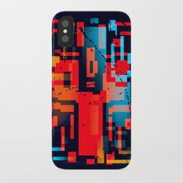 Abstract Composition #1 iPhone Case