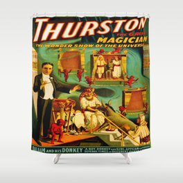 Thurston The Great Magician - Egypt Shower Curtain