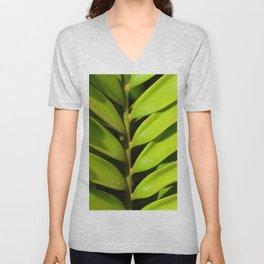 Vegetable balance - Green design Unisex V-Neck