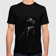 Ronin LARGE Mens Fitted Tee Black