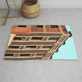 BEAUTIFUL BRICK BUILDING - DETROIT - MICHIGAN Rug