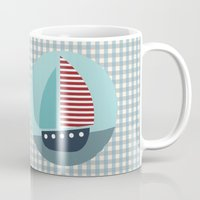 sailing Mugs featuring Sailing by Mr and Mrs Quirynen