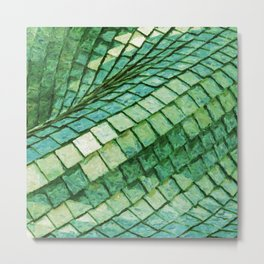 Abstract scales painting Metal Print