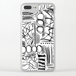 Gestures Clear iPhone Case
