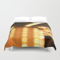 carousel Duvet Covers featuring Carousel by Julius Marc