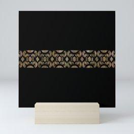 Contemporary Grain Patterns Mini Art Print
