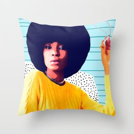 Smoke 'em if you got 'em Throw Pillow