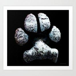 Animal Lovers - South Paw Art Print