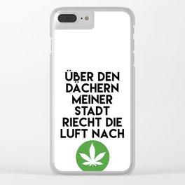 PALMEN AUS PLASTIK - Marihuana 187 Lyrics Clear iPhone Case