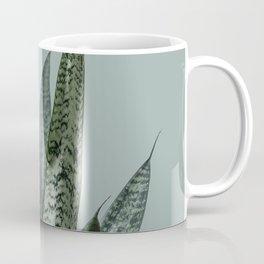 Snake plant in green Coffee Mug