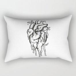 Dying inside Rectangular Pillow