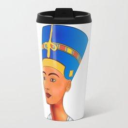Nefertiti - queen of ancient Egypt Travel Mug