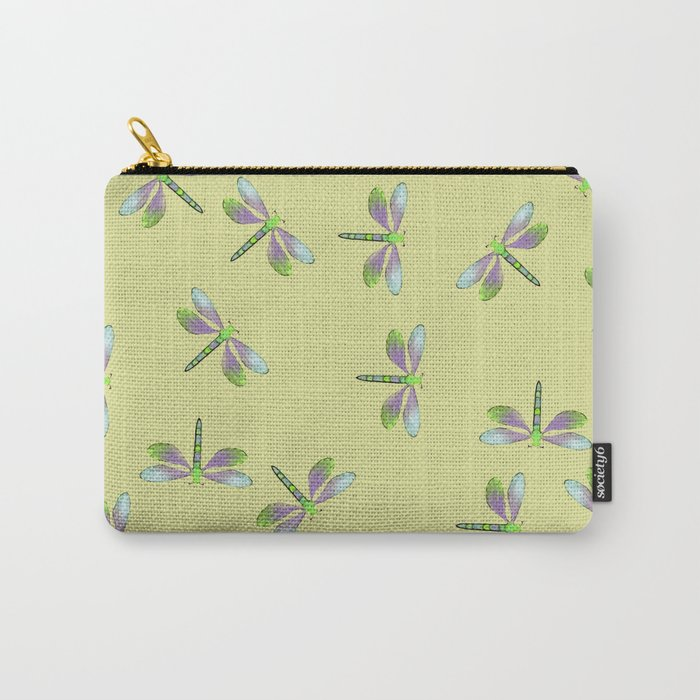 Dragonfly Frenzy Carry-All Pouch