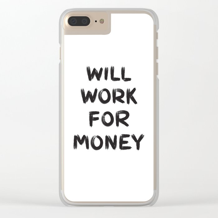 Money Clear iPhone Case