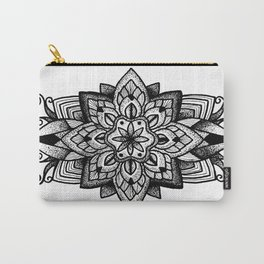 Mandala Curley Carry-All Pouch