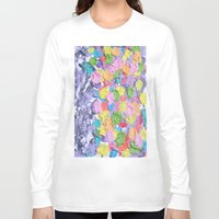 ferris wheel Long Sleeve T-shirts featuring Ferris Wheel  by Laura Jane Mitbrodt
