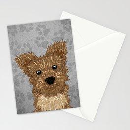 Huey-Yorkie Stationery Cards