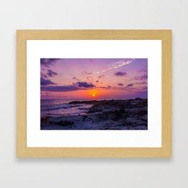 BALEARIC SUNSET · MALLORCA · SPAIN Framed Art Print