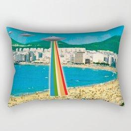 A Summer Vacation Rectangular Pillow