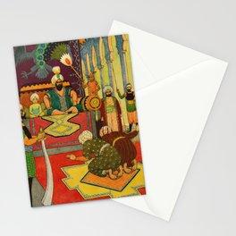Small Judge by Rudolf Koivu Stationery Cards
