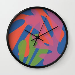Cut N Color Wall Clock