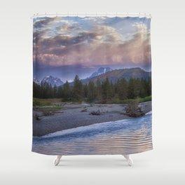 Morning on the Snake River - Grand Teton national Park Shower Curtain