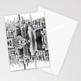 Mirror City Stationery Cards