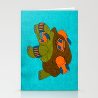 tortoise Stationery Cards featuring Tortoise by subpatch