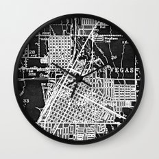 Vintage Las Vegas Wall Clock