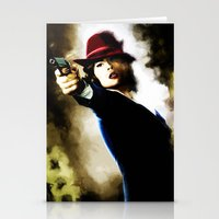 agent carter Stationery Cards featuring Agent Carter by Ms. Givens