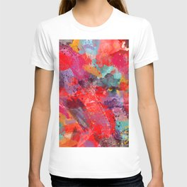 Las Cruces map New Mexico 2 T-shirt