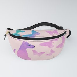 I Want to Fly Like a Butterfly Fanny Pack