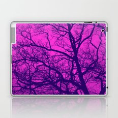 Pink and Blue Tree Laptop & iPad Skin