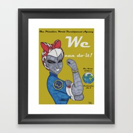 We Can Do IT Framed Art Print