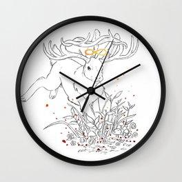Infinity Rabbit Wall Clock
