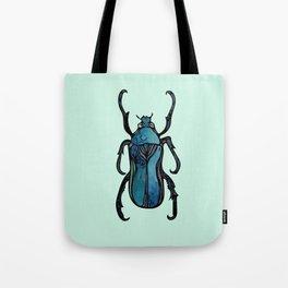 Blue Beetle- Teal Tote Bag