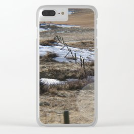 Lower River Road Clear iPhone Case