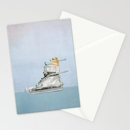 Dog Driving a Shoe Stationery Cards