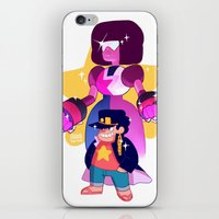 jjba iPhone & iPod Skins featuring steven and his stand by JohannaTheMad