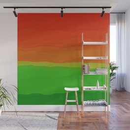 Candy Watermelon Abstract Wall Mural