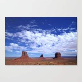 Sky above Monument Valley Canvas Print