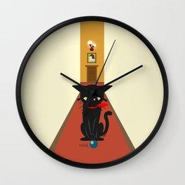In the corridors Wall Clock