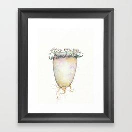 Tuber Plant, 2018 Framed Art Print