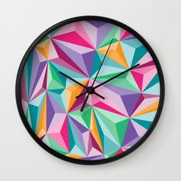 Prizms Wall Clock