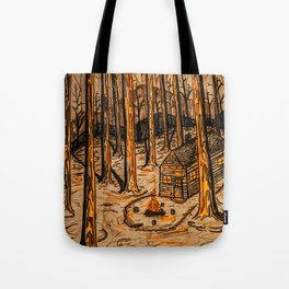 The Great Cabin Tote Bag