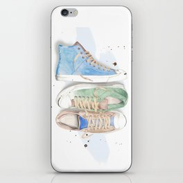 Converse Shoes iPhone Skin