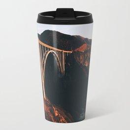 Sunburnt Bixby Bridge - Big Sur, California Travel Mug