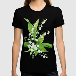 White Lilly Bouquet T-shirt
