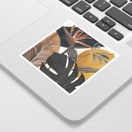 Abstract Tropical Art III Sticker